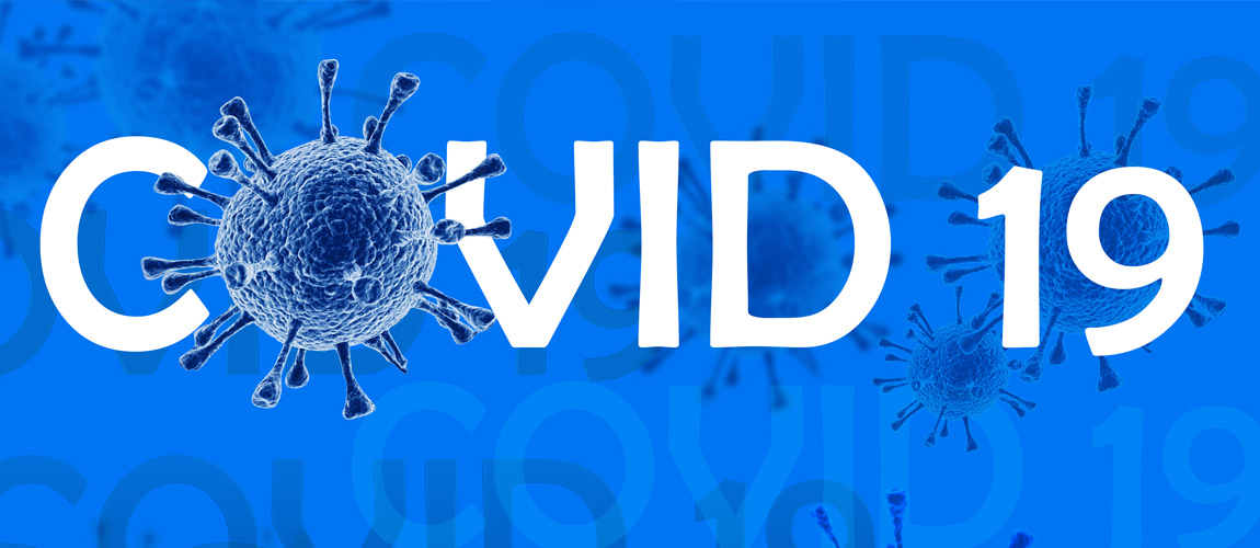 COVID 19 image with virus